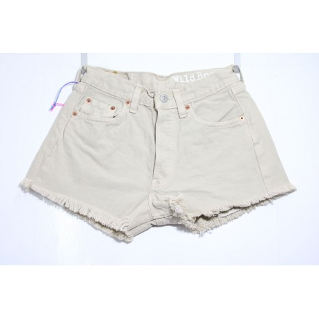 LEVI'S 501 SHORT BEIGE BASIC