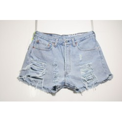 LEVI'S 501 SHORT DESTROY Capo Unico N.321