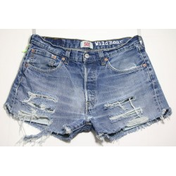LEVI'S 501 SHORT DESTROY Capo Unico N.323