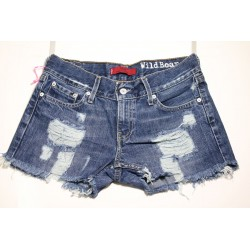 LEVIS SHORT 559 DESTROYED Capo Unico N.246