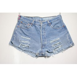 LEVI'S 501 SHORT DESTROY Capo Unico N.325