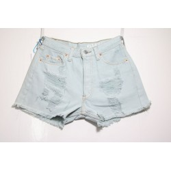 LEVIS SHORT 501 STRAPPATO DESTROYED Capo Unico N.259