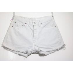 Short Levis 501 Basic Bianco