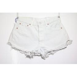 Short Levis 501 Bianco Basic Capo Unico N.271