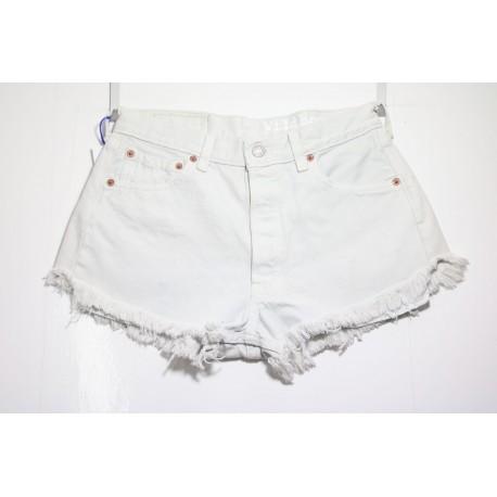 Short Levis 501 Bianco Basic