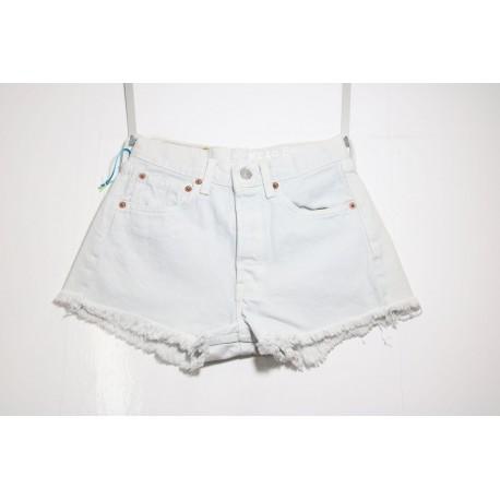 Short Levi's 501 Bianco Basic