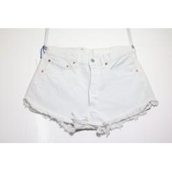 Short Lev'is 501 Bianco Basic