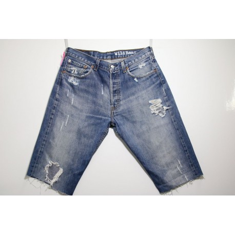 LEVI'S BERMUDA 501 DESTROYED