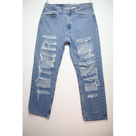 LEVI'S JEANS 550 DESTROYED OVER