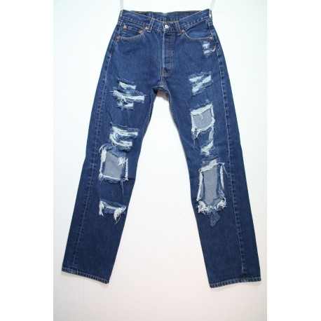 LEVI'S 501 DESTROYED OVER