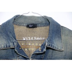GIACCA JEANS DIESEL CON BORCHIE