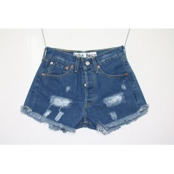 Short Levis 501 denim strappato Capo Unico 1