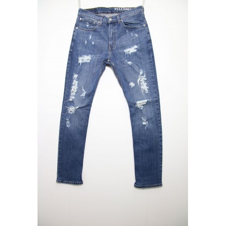 Levi's jeans 751 skinny destroyed