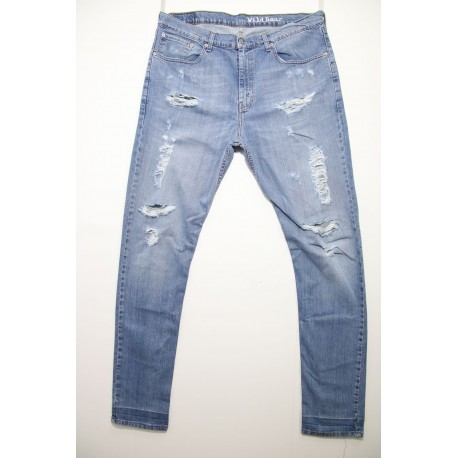 LEVIS 751 SKINNY DESTROYED