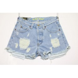 LEE SHORT JEANS VITA ALTA DESTEROYED