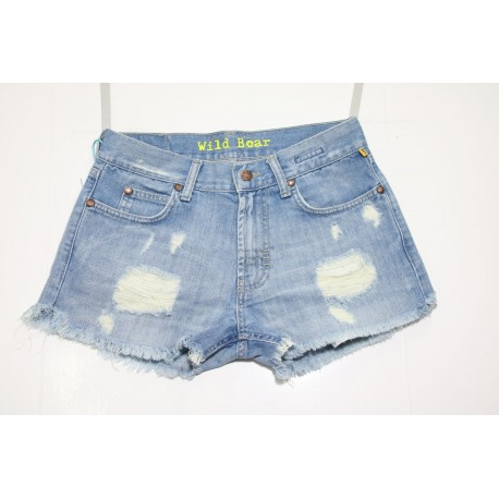 MELTIN POT SHORT JEANS VITA ALTA