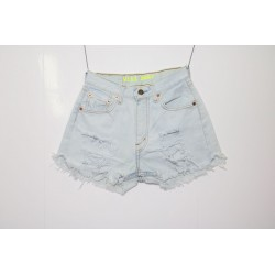 Short Levis 501 denim strappato Capo Unico 7