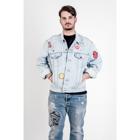 Levi's Jacket modello Patch Destroyed