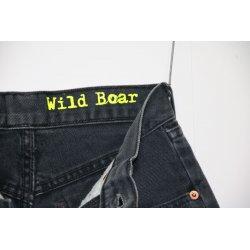Short Levis jeans colore nero