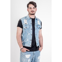 Levi's Gilet modello Destroyed
