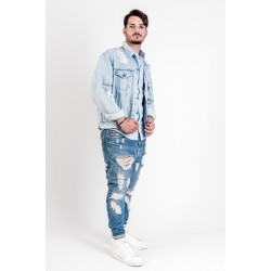 Levi's Jacket denim modello Destroyed