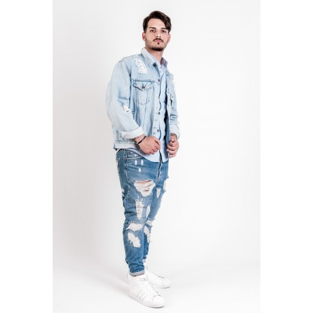 Levi's Jacket denim modello Destroyed