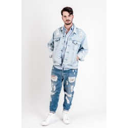 Levi's Jacket denim mod. Destroyed