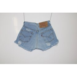 Short Levi's 501 rigato destroyed Capo Unico 11