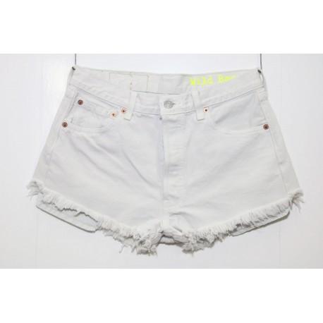 Short levis 501 bianco