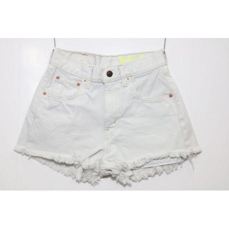 Levis short jeans bianco