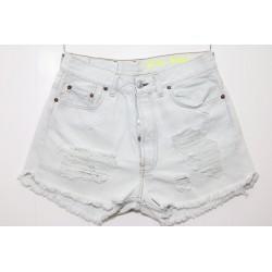 Levis short 501 bianco / panna jeans
