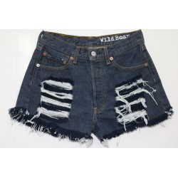 Levis short 501 strappato destroy