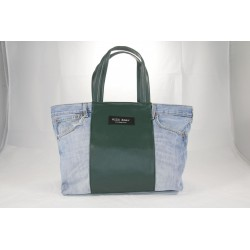 SHOPPING IN JEANS CON ECO-PELLE cod. A2