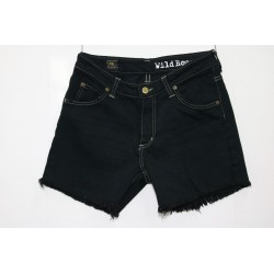 LEE SHORT JEANS NERO Capo Unico 33