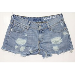 LEVI'S SHORT 470 STRAPPATO DESTROYED