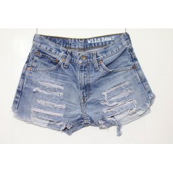 LEVIS SHORT 516 STRAPPATO DESTROYED Capo Unico 36