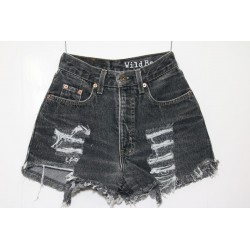 levis short 881 strappato destroyed