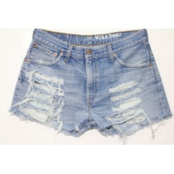 LEVIS SHORT 507 STRAPPATO DESTROYED