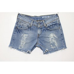 LEVIS SHORT 433 STRAPPATO DESTROYED