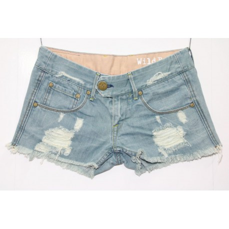 LEVIS SHORT 1000 STRAPPATO DESTROYED