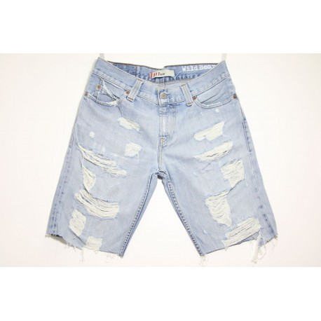 LEVI'S BERMUDA DESTROYED