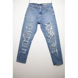LEVI'S 505 DESTROYED CUSTOMIZED