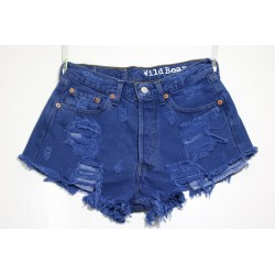 LEVI'S 501 SHORT DESTROY Capo Unico N.201