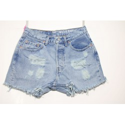LEVI'S 535 SHORT DESTROYED