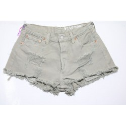 LEVI'S 501 SHORT DESTROYED Capo Unico N.222
