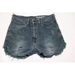 LEVI'S 525 SHORT DESTROYED Capo Unico N.229