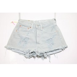 LEVI'S 501 SHORT DESTROYED Capo Unico N.236