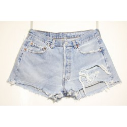 LEVI'S 501 SHORT DESTROYED Capo Unico N.154