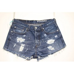 LEVI'S 758 SHORT DESTROYED CON VERNICE