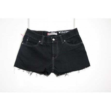 LEVI'S 511 SHORT NERO BASIC